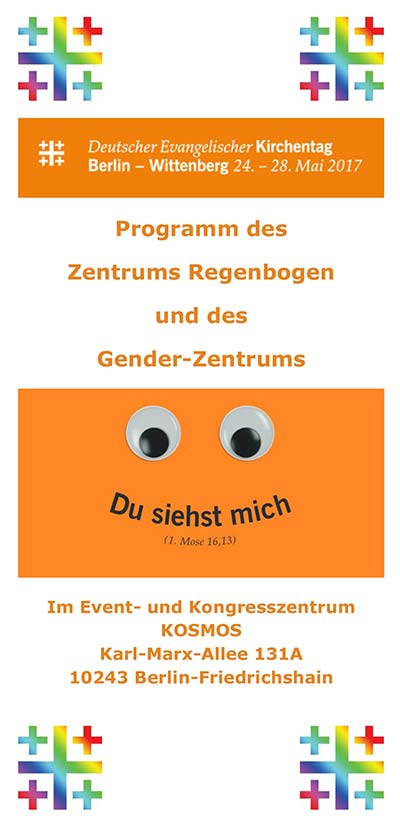 Flyer Kirchentag Berlin